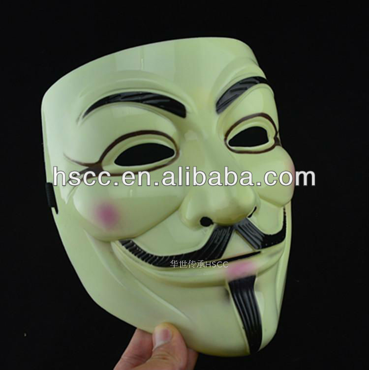 Hot Selling guy fawkes mask movies anonymous mask china