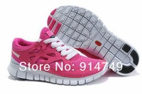 Женские кроссовки Top quality New Style Run+2 women Running Shoes 2013 Fashion Athletic 3 Shoes for women 45789 Size:36-39