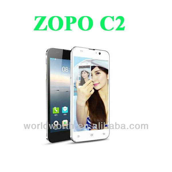 Zopo C2 Smart Phone Zopo C2 Quad Core Mtk6589 android 4.2 ZOPO C2 MTK6589 Quad Core 5 inch Smartphone 1920*1080 zopo c2 phone