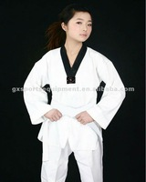 Оборудование для фитнеса и бодибилдинга Fashion Deluxe V-Neck Taekwondo uniform
