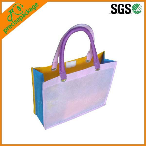 colorful fashion non woven shopping bag(PRA-623)