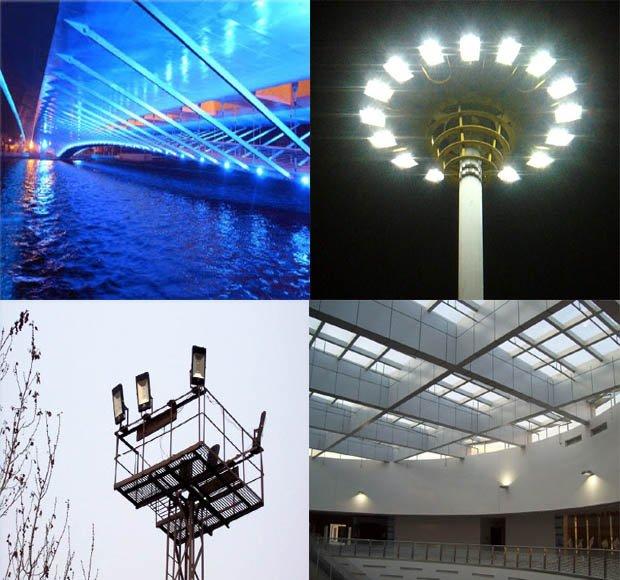 UL cUL E352762 certified LED flood light with 5 years warranty (DLC certificate)