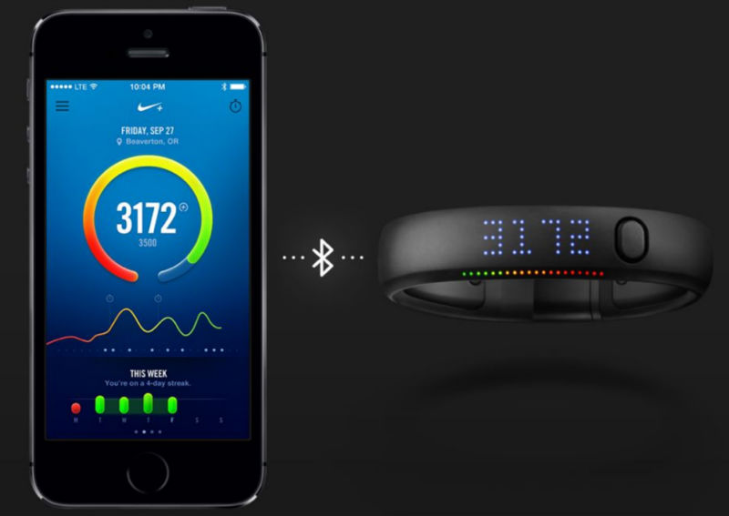 Nike Plus Fuelband SE Sporting Health Wristband Exercise & Fitness sport fitness product fuelband