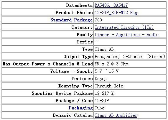 ba5406 усилителей звуковой