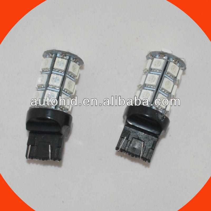 t20 7443/7440 27smd 5050 auto led turning light/brake light