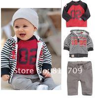 Комплект одежды для мальчиков 5set/lot 2012 autumn new style 3pcs suits set