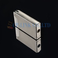 Cohiba Dual Torch Flame Elegant EDC Cigar Cigarette Lighter With Cigar Punch Free Shipping