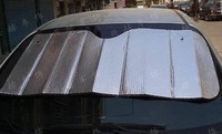 Автомобильные держатели и подставки Aluminum foil stoopable sun-shading silver bubble sun block Window foils and Solar Protection keep out sunshine