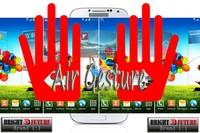 "Мобильный телефон has Air gesture, S-View, Eyes control, dual camera 5.0"" galaxy replica S4 1:1 i9500, Quad core Phone MTK6589 1280x720, Android 4.2"
