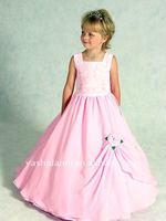 Детское платье 2011 Pink Cheap Customer-Made Flower Girl