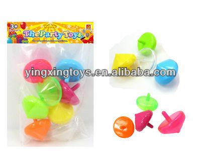 promotion gift toy plastic spinning top toy