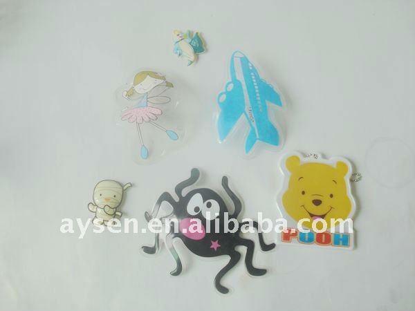 Bonito PVC decoratins e brinquedos para crianças