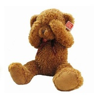 Free Shipping  Low Price  Plush Animal Toys,Touching  Ears Teddy Bear Doll  Christmas Gifts,Birthday Gift.