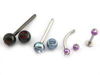 Ювелирное украшение для тела 316L stainless steel tongue ring, 316L Body Jewelry