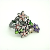 Кольцо Fashion Ring Mixed Order -Flower #NR155