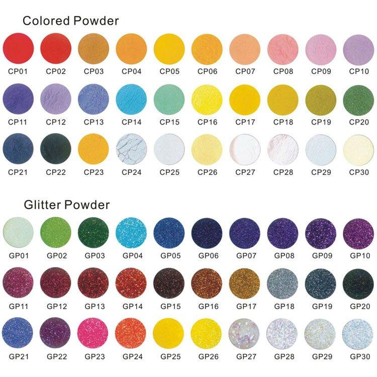 Nail Painting Of Uv Gel Acrylic Powder Nail Art Color
