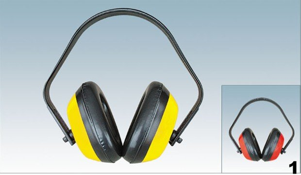 SAFETY EARMUFF, EAR DEFENDER with CE STANDARD
