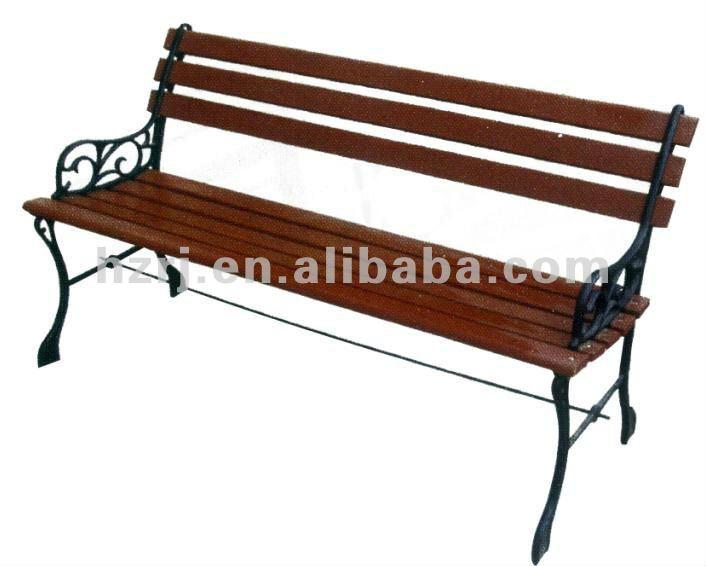 banco de jardim metal:Cast Iron Wood Garden Bench
