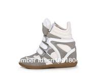 Женские ботинки Hot Sneakers Isabel Marant Leather Size 5Colors Cowboy Boots Women Shoes Boots