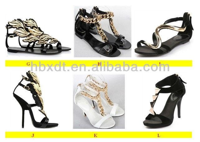 wholesale 2013 heelless ladies summer high wedge sandals!sexy fashio<em></em>nable wedge ladies shoes