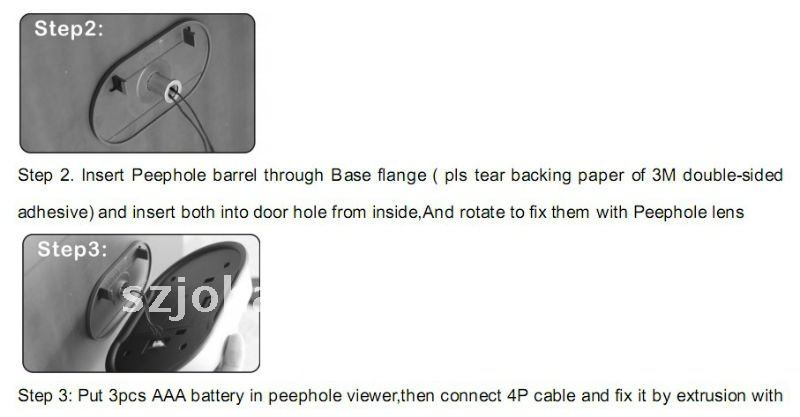 Ringing doorbell viewers with Home Appliances