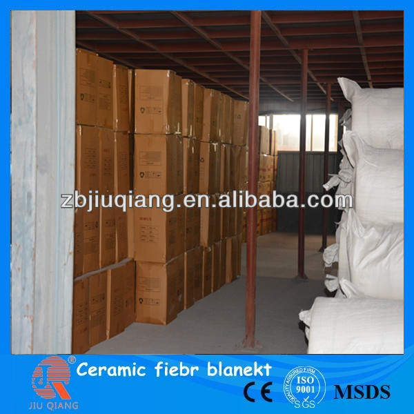 Ceramic fiber roof heat insulation materials