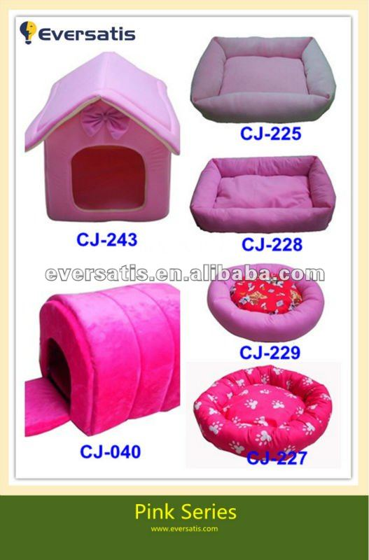 2012 New pink princess dog house