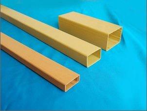 pvc square tube /PVC rigid square pipe/tube (hot)
