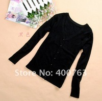 Женский кардиган In Stock 2012 Fashion Pullove Ladies Sweater 100% wool women sweaters