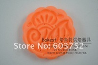 Инструменты для выпечки 50g With 8 pattern stamps s best DIY 3D plastic round mini moon cake mold plunger maker press #9227