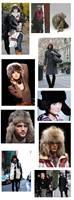 free shopping Winter leifeng cap faux ear flight hat snow cap warm hat   unisex