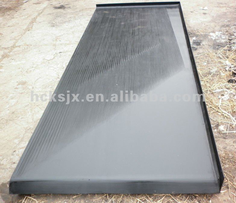 Coal mine, shaking table for coal mine