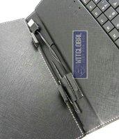 """кожаный чехол + usb клавиатура для 10.4 """"digma idx10 / idx10 3g планшет"""