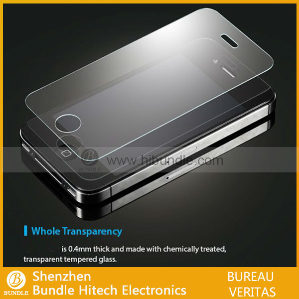 New products 2013 for iphone4 screen protector with design
