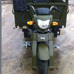3 wheel motorcycle designs with off roads tires for farming use