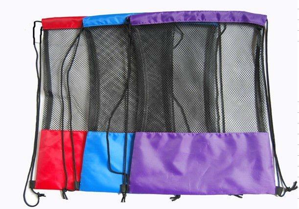 hot selling 210d nylon foldable mesh drawstring bag/ gift bags