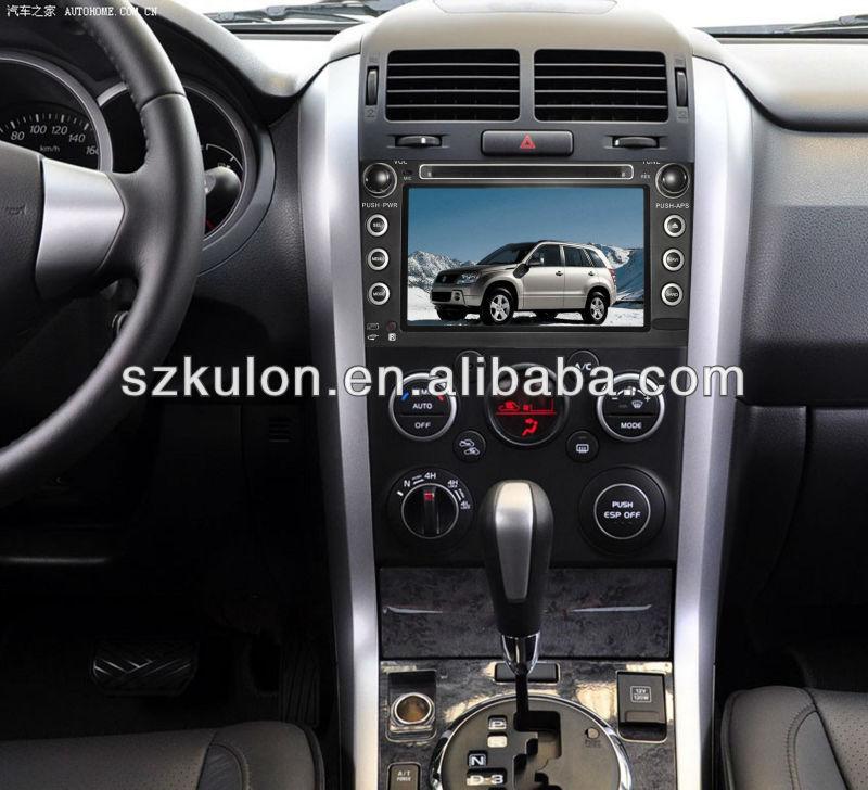 7 inch SUZUKI GRAND VITARA Car audio with gps navigation,bluetooth,Dual Zone Entertainment