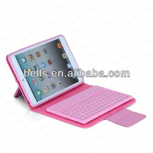 New Stand Leather Case Cover Wireless Bluetooth Keyboard For New iPad Mini