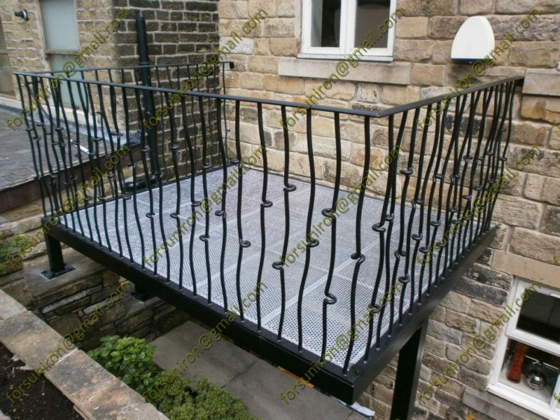 Speciale in ferro battuto balcone ringhiere design, in ferro ...