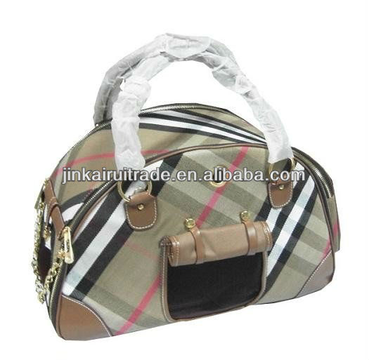 flannel material wholesale pet carrier dog