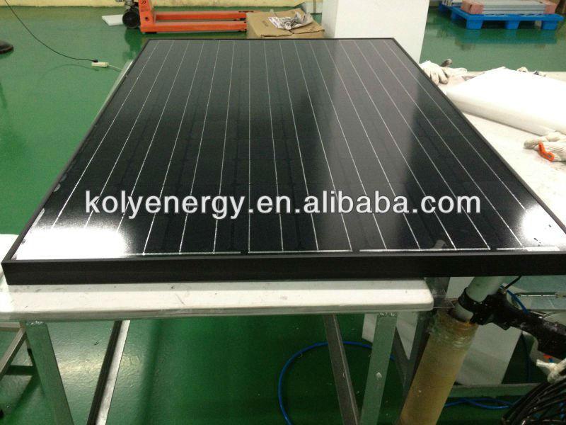 Black Mono 200W Solar Panel