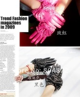 Женские перчатки Dressy coats marry Gloves fashion rivets butterfly gentlewoman Lady gloves