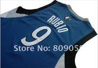 Мужская футболка для баскетбола All size Hot Sell Basketball Jerseys, RUBIO jerseys, cheap with high quality, Accept Mix order