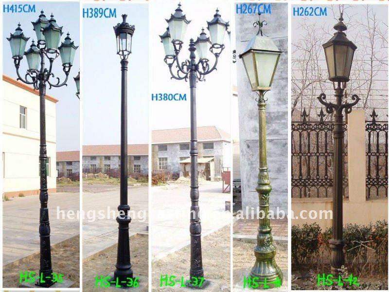 Jardin ext rieur lampadaire d coratif jardin lampadaire - Lampadaire de jardin exterieur ...