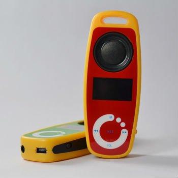 Pas cher prix 16 gb 1.1 pouce mp3 avec haut-parleurs OA-0189s pour cadeaux avec FM