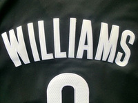 Баскетбольная футболка для мальчиков Kids Brooklyn 8 Deron Williams Basketball Jersey Youth, New Fabrics REV 30 Basketball Jersey Youth