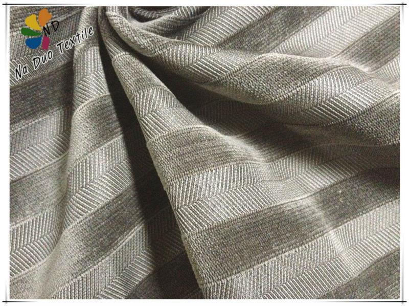 2013 nouveau Design rayé tissu d'ameublement pour canapé