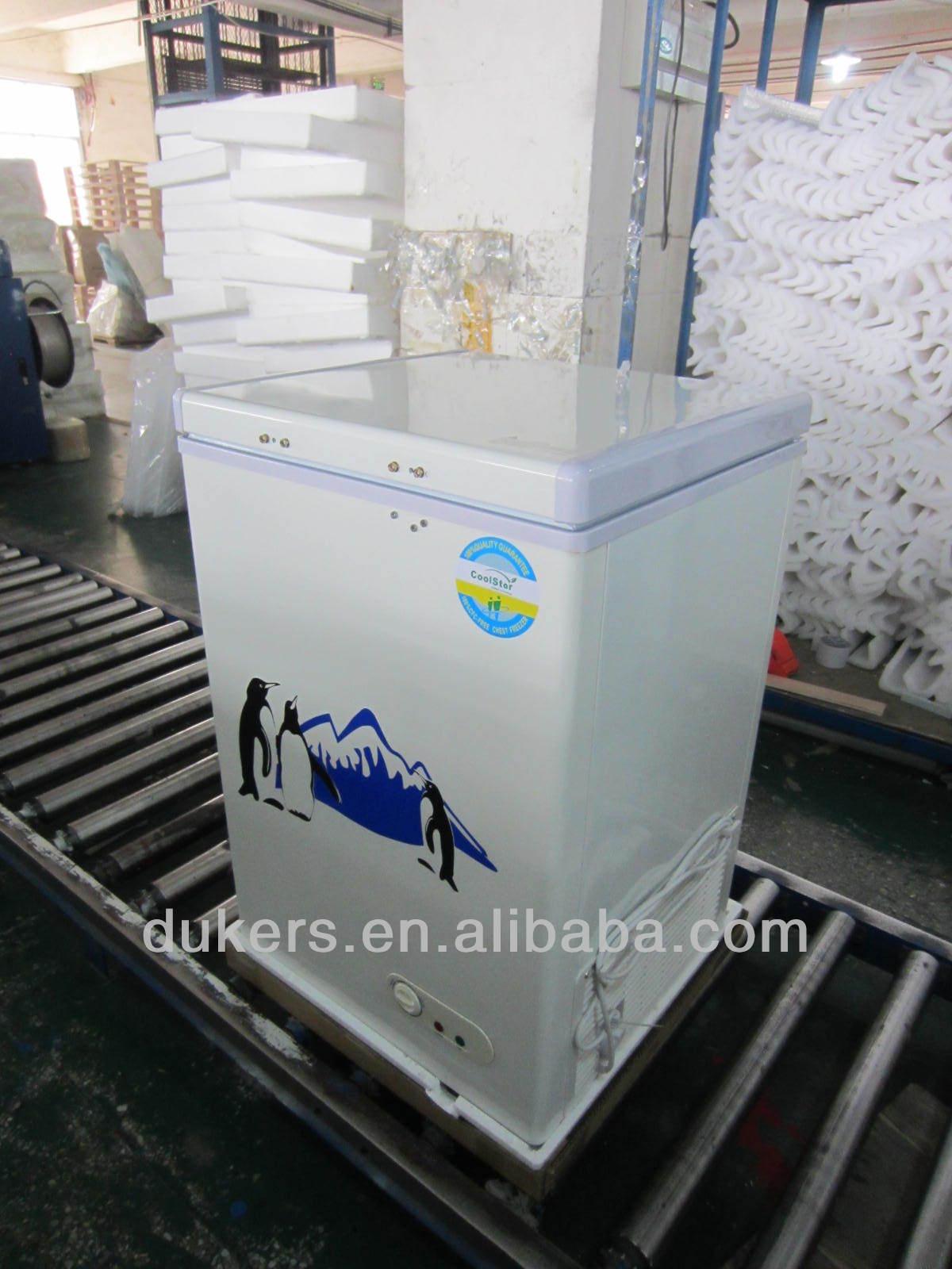 Small top open door chest freezer 100L BD/BG-100