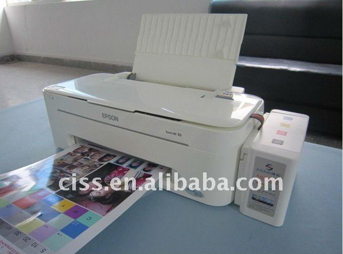 Chipless L800 Printer/Stylus Photo T50 with Pre-installed CISS