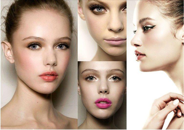 Cheap Cosmetics brush set Synthetic hair 4pcs Make up brushes tool